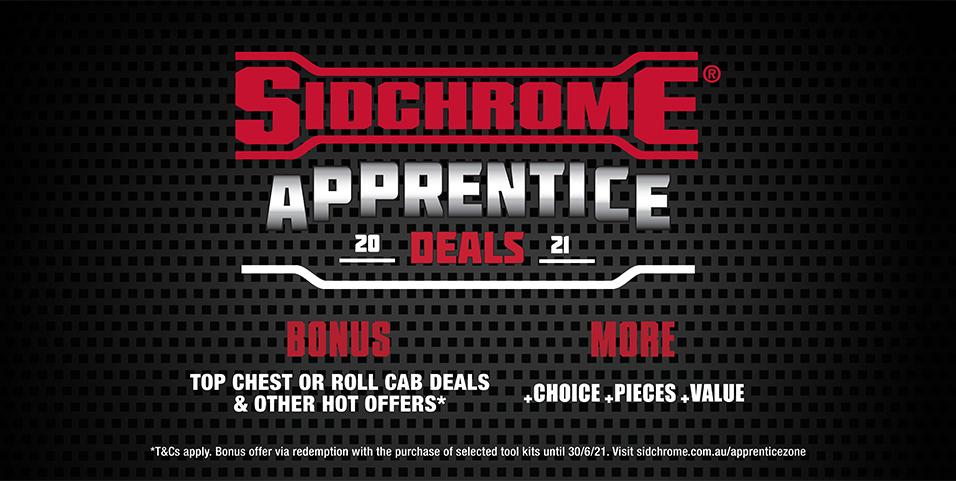 Sidchrome apprentice 2021 deals